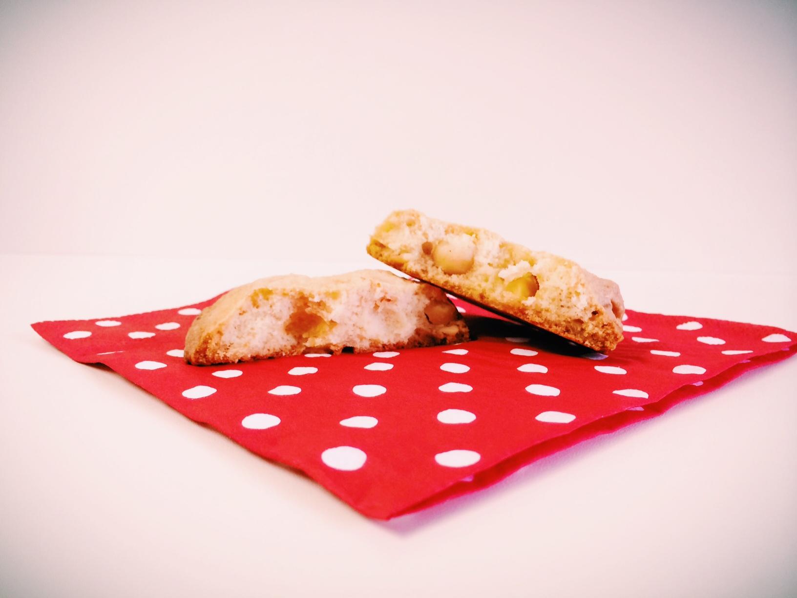 White Chocolate Cookies mit gesalzenen Macadamia-Nüssen oder die Perfektion an sweet & salty