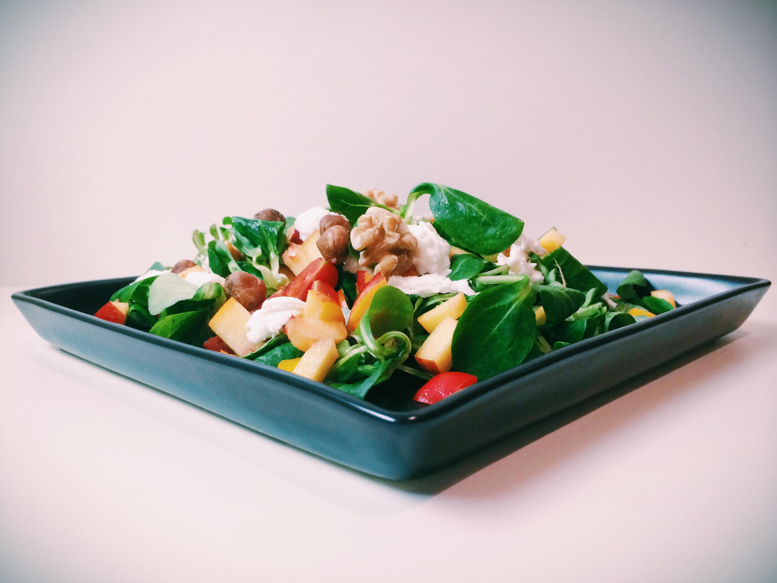 Wenn's mal schnell gehen muss: fruchtiger Salat