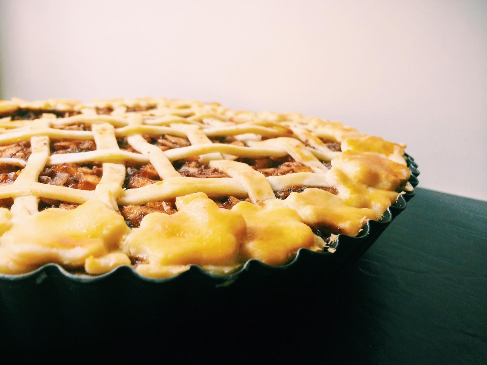 Herbstlicher Apple Pie