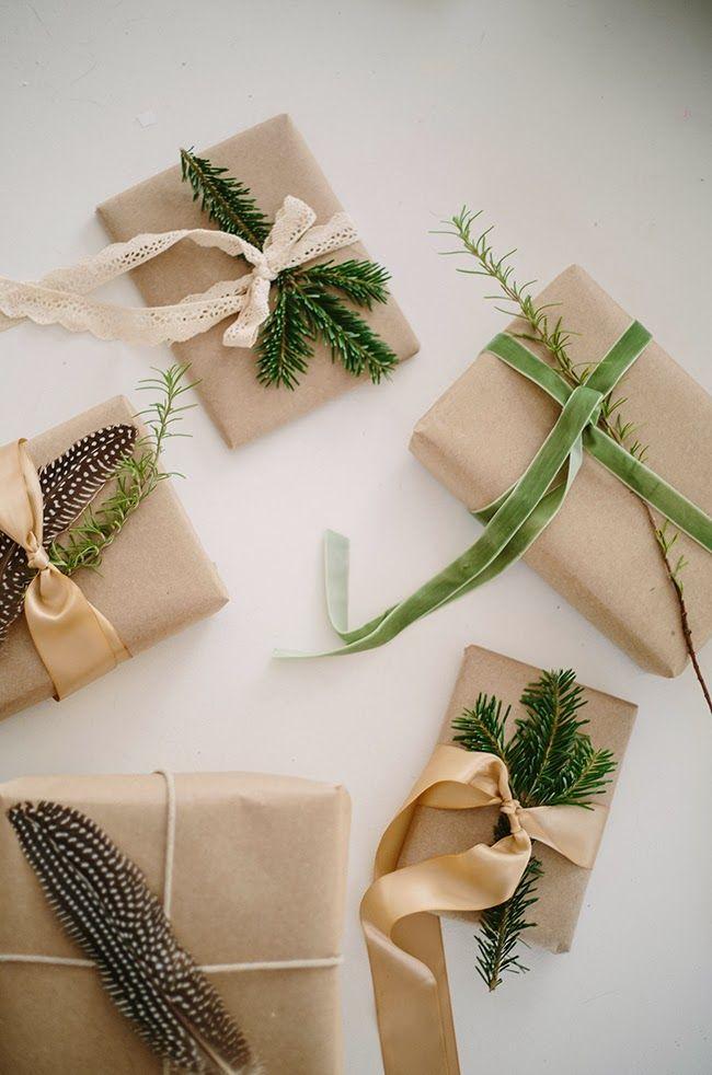 Inspirationen: Geschenke liebevoll verpacken