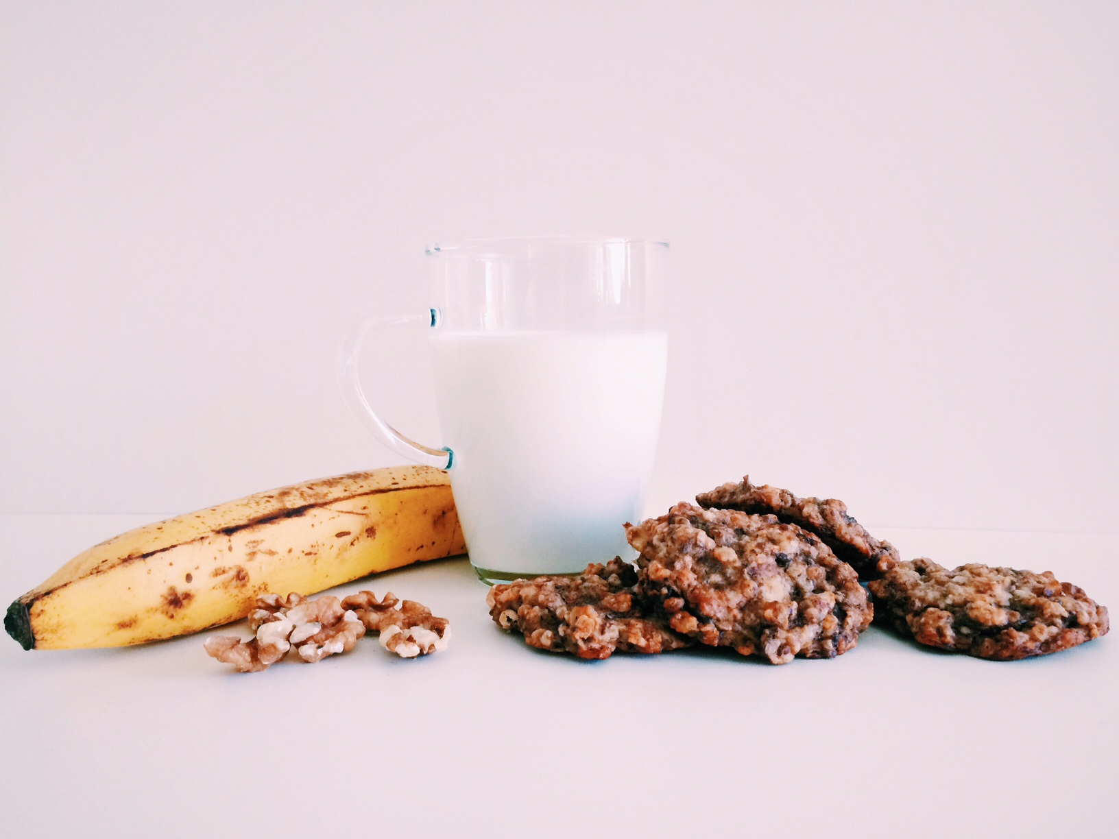 Bananenbrot Cookies