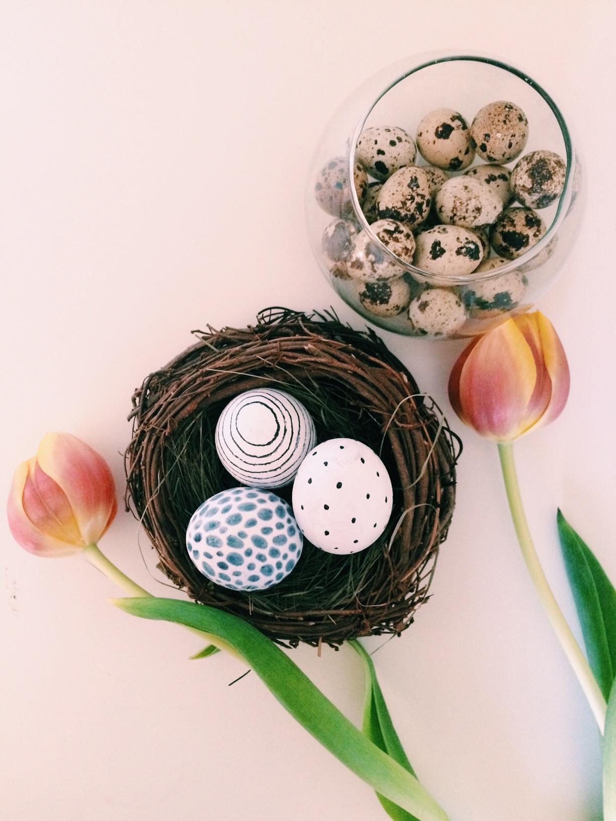 Eier färben mal anders