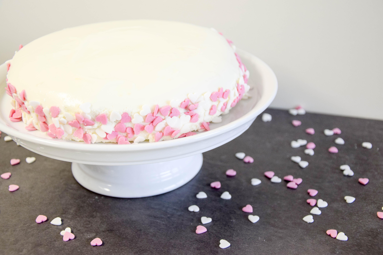 Vanille-Topfen Muttertagstorte