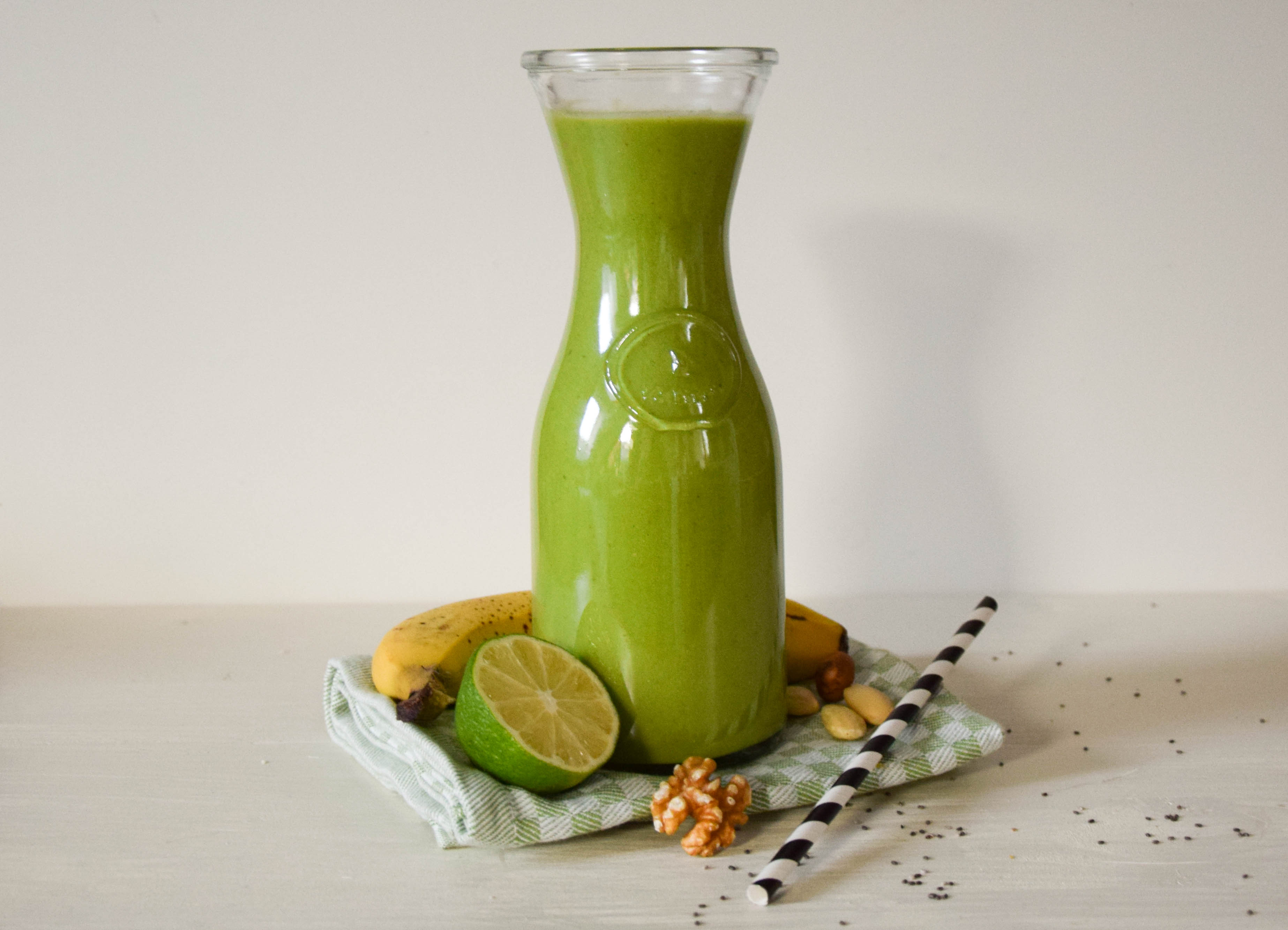 Post Work Out Snack – Green Smoothie Rezept