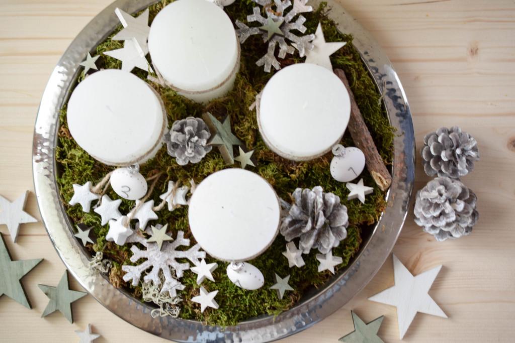 Adventkranz mintnmelon for Wohnung dekorieren advent