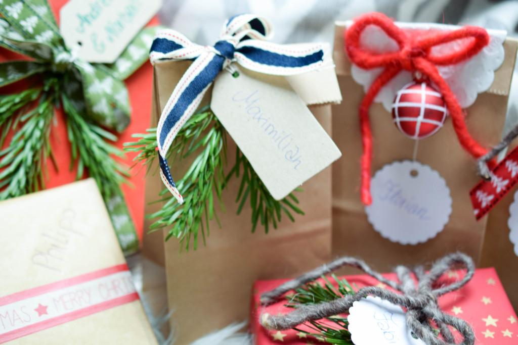 Inspiration Weihnachtsgeschenke verpacken