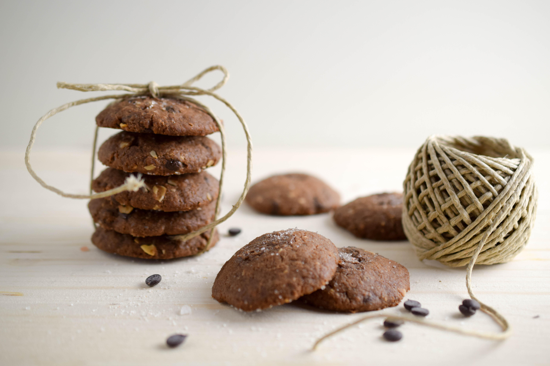 Salzige Schokolade Cookies