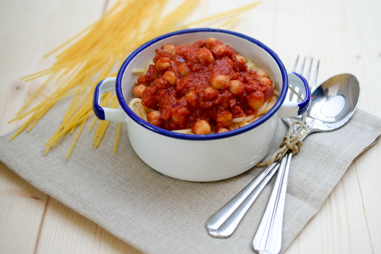 Spaghetti Bolognese veggie