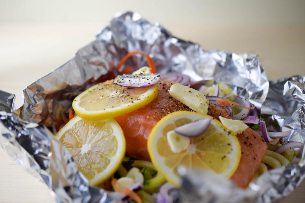 Perfekte Zubereitung für Lachsfilets