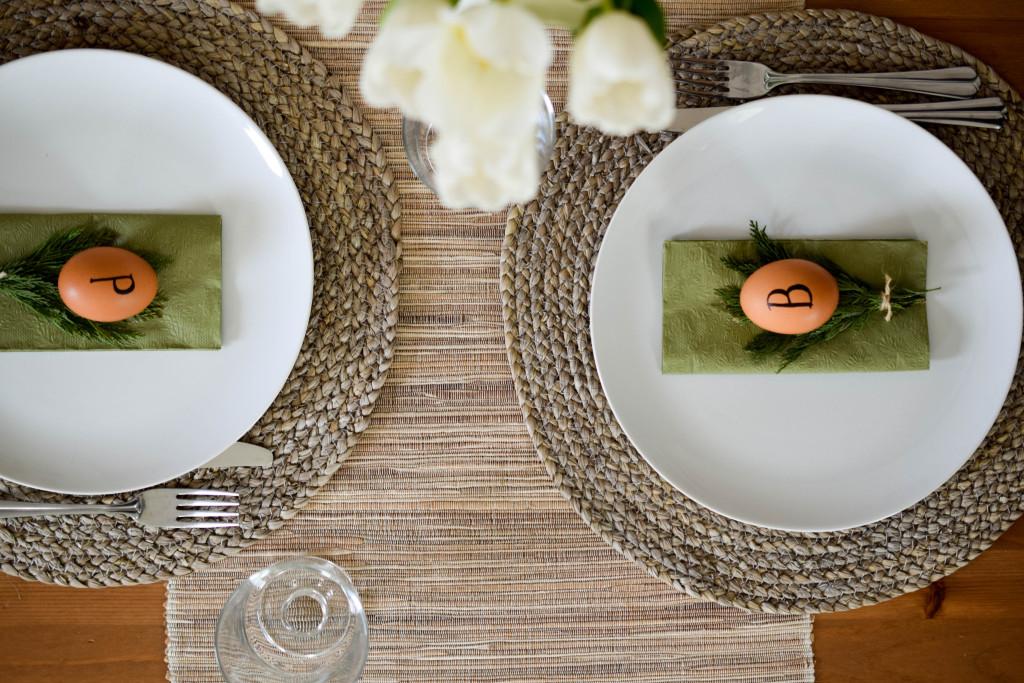 Tischdekoration Ostern