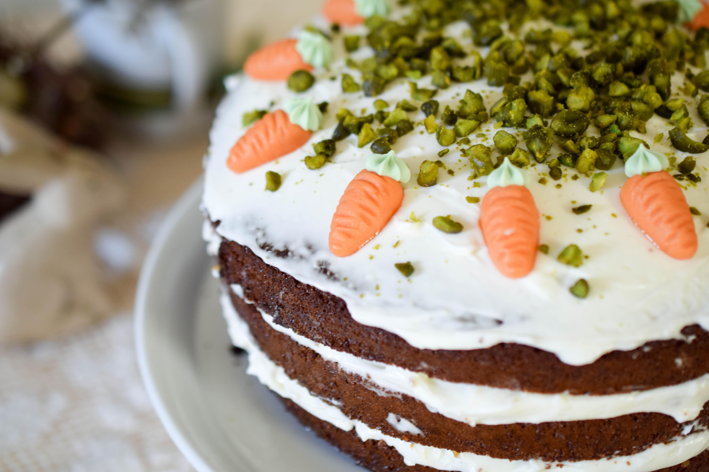 oster kuchen naked carrot cake mintnmelon. Black Bedroom Furniture Sets. Home Design Ideas