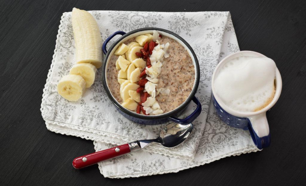 Paleo Porridge vegan mintnmelon by Babsi Sonnenschein 1