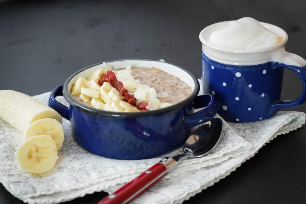 Paleo Porridge vegan mintnmelon by Babsi Sonnenschein 2