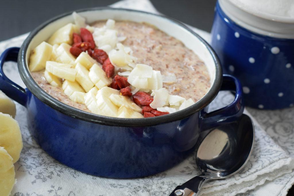 Paleo Porridge vegan mintnmelon by Babsi Sonnenschein 3