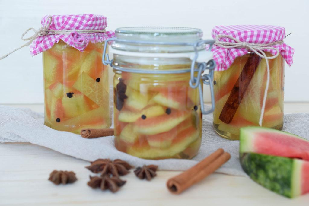 knackige wassermelonen pickles mintnmelon. Black Bedroom Furniture Sets. Home Design Ideas