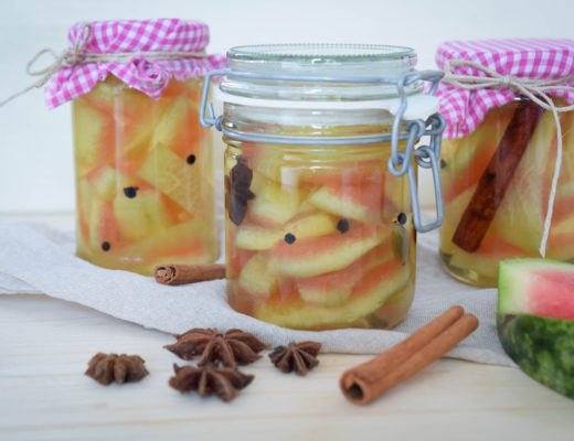Wassermelonen-Pickles mintnmelon by Babsi Sonnenschein 3