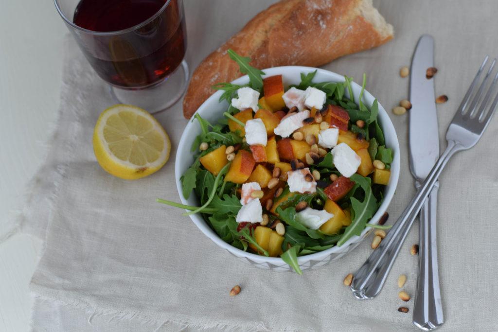 Sommersalat mit Nektarinen mintnmelon by Babsi Sonnenschein 1