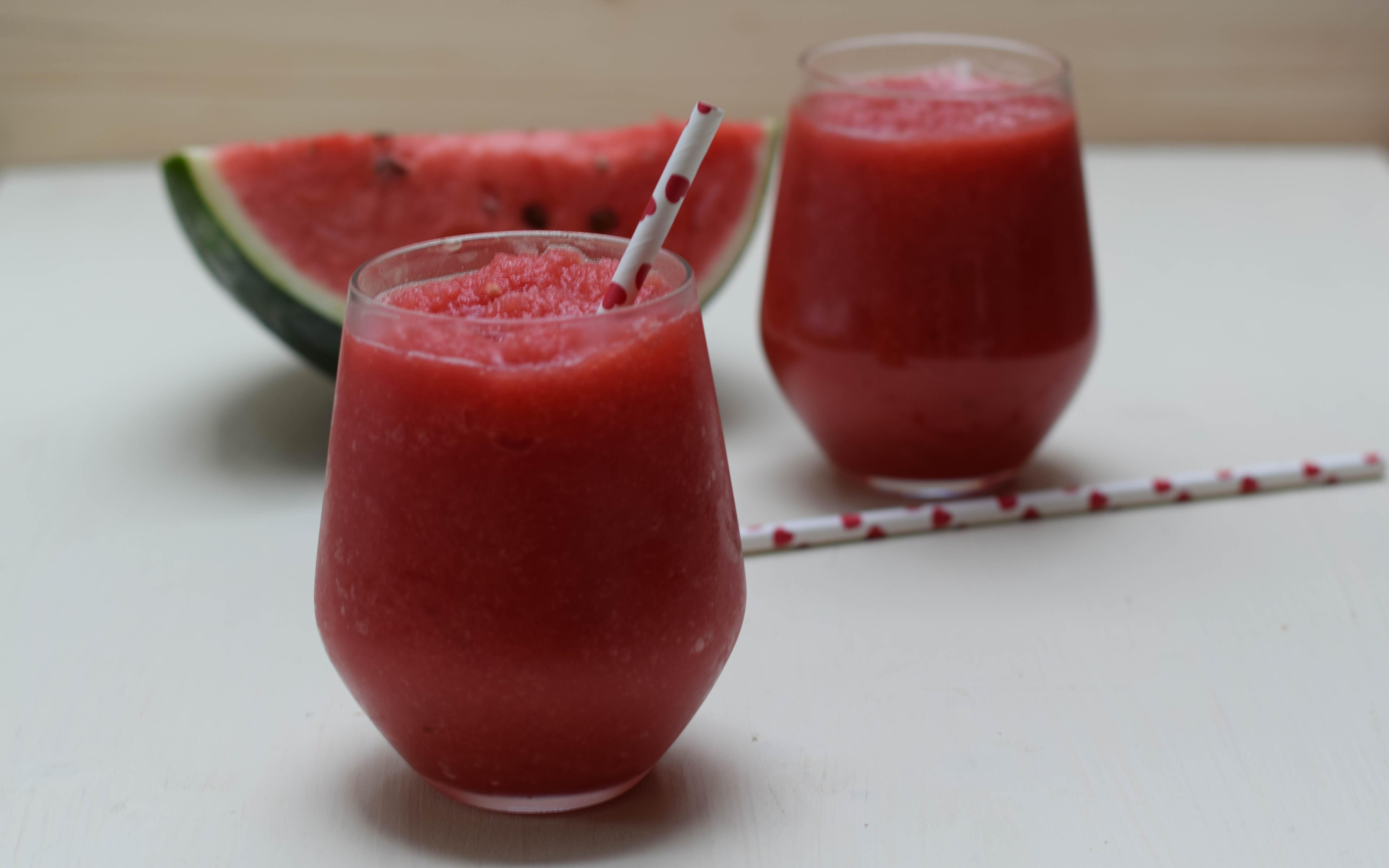 Erfrischendes Wassermelonen Sorbet Rezept