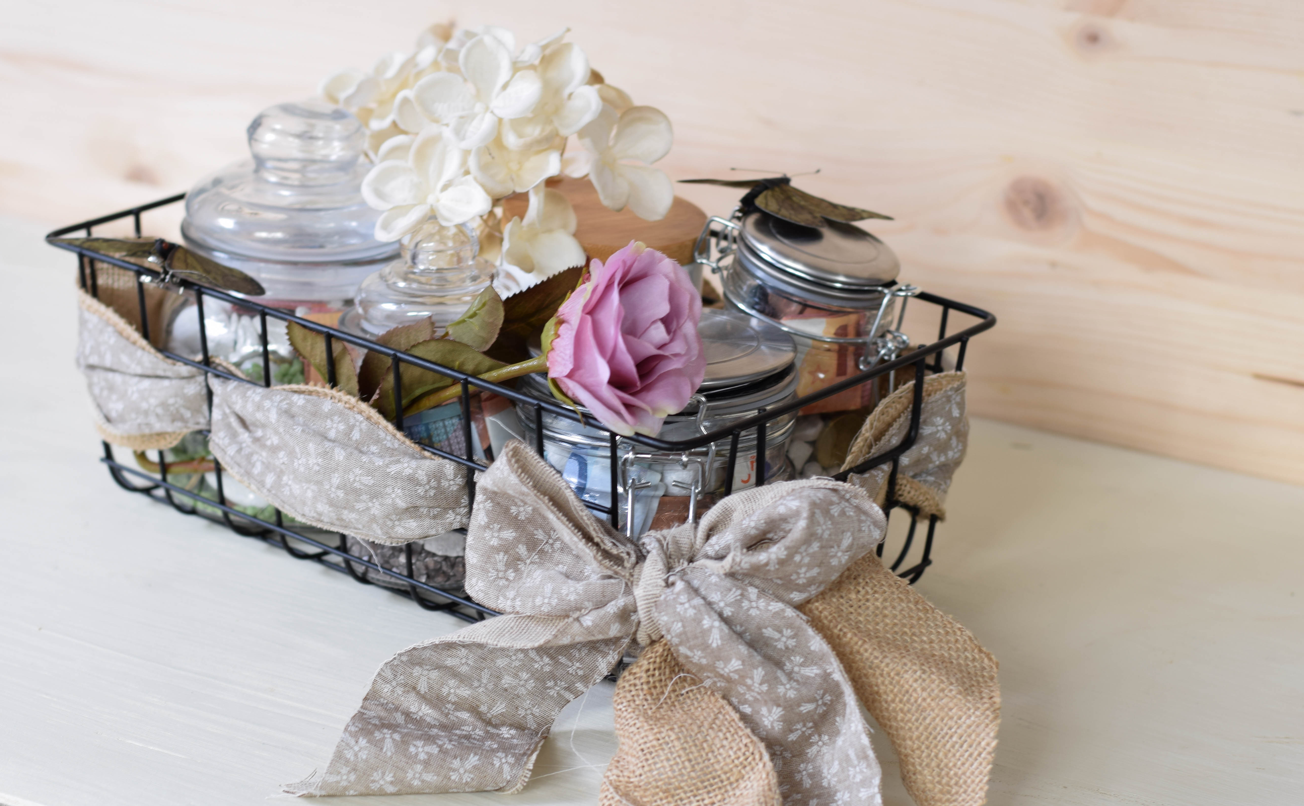 DIY – schnell ein Hochzeitsgeschenk basteln