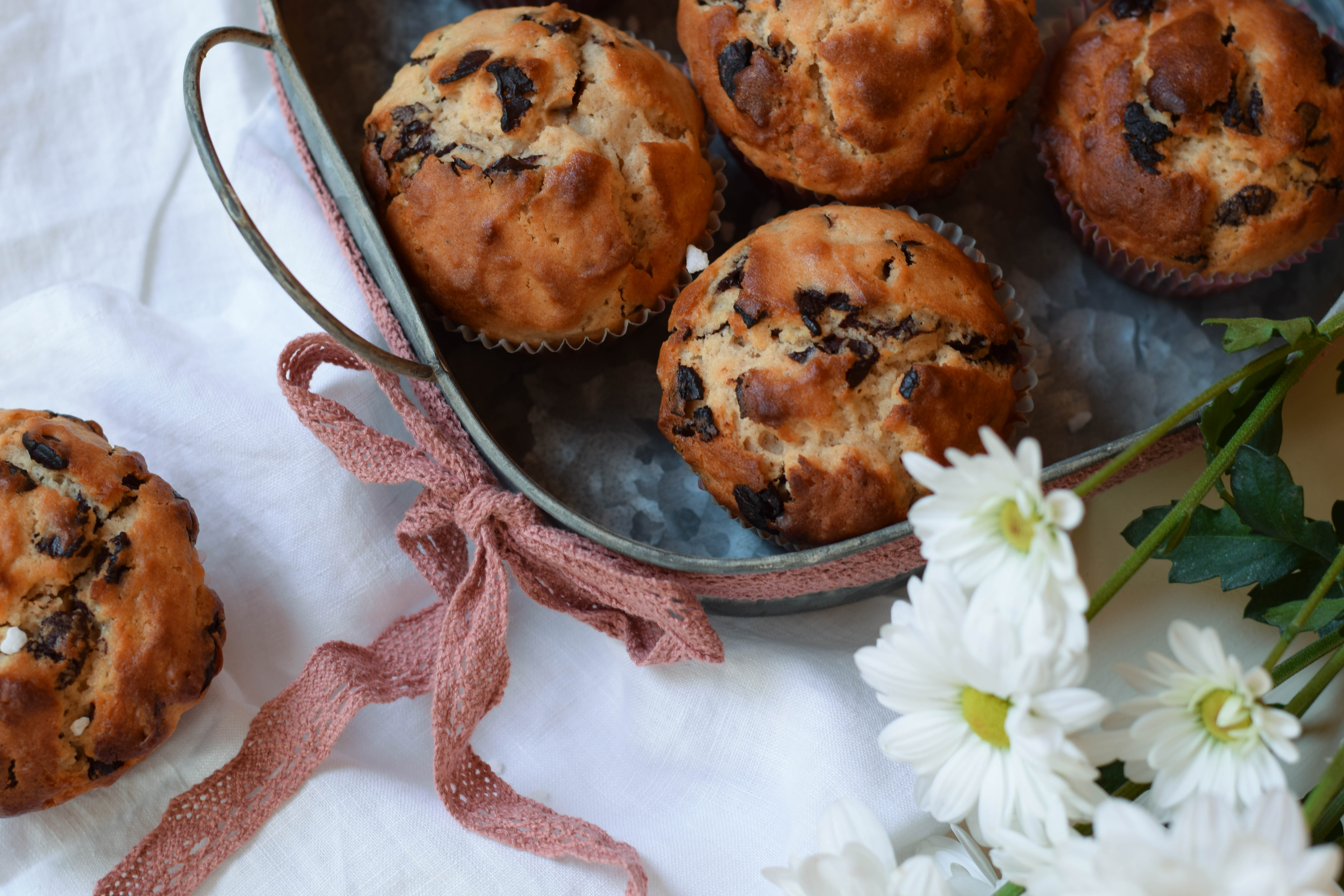 Sweets for my Sweets – Chocolate Chip Muffins