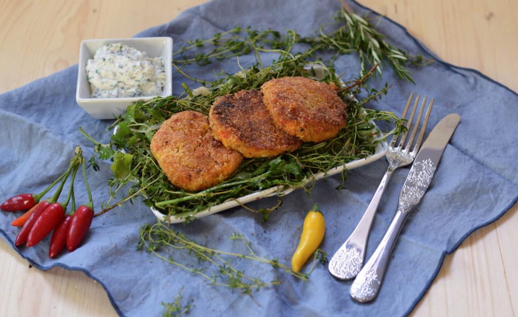 gemueseschnitzel-mit-wildkraeuter-sprossen-salat-und-dip-mintnmelon-by-babsi-sonnenschein-9