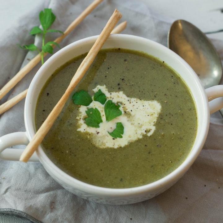 Grüße aus meiner Suppenküche – Brokkolicremesuppe