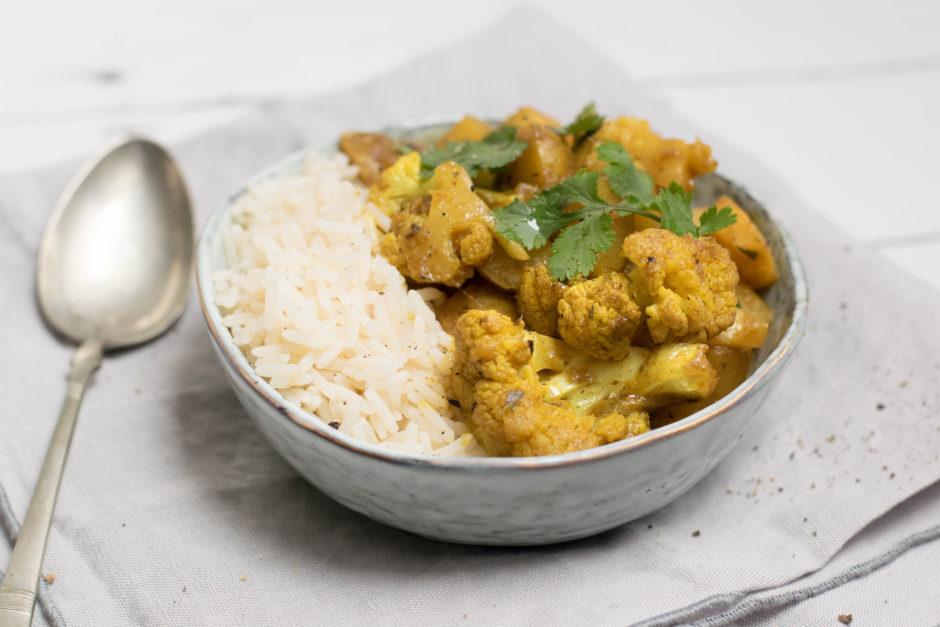 Raus aus dem grauen Alltag: Wintergemüse Curry