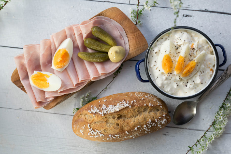 Frischer Eier-Kren Aufstrich zur Osterjause