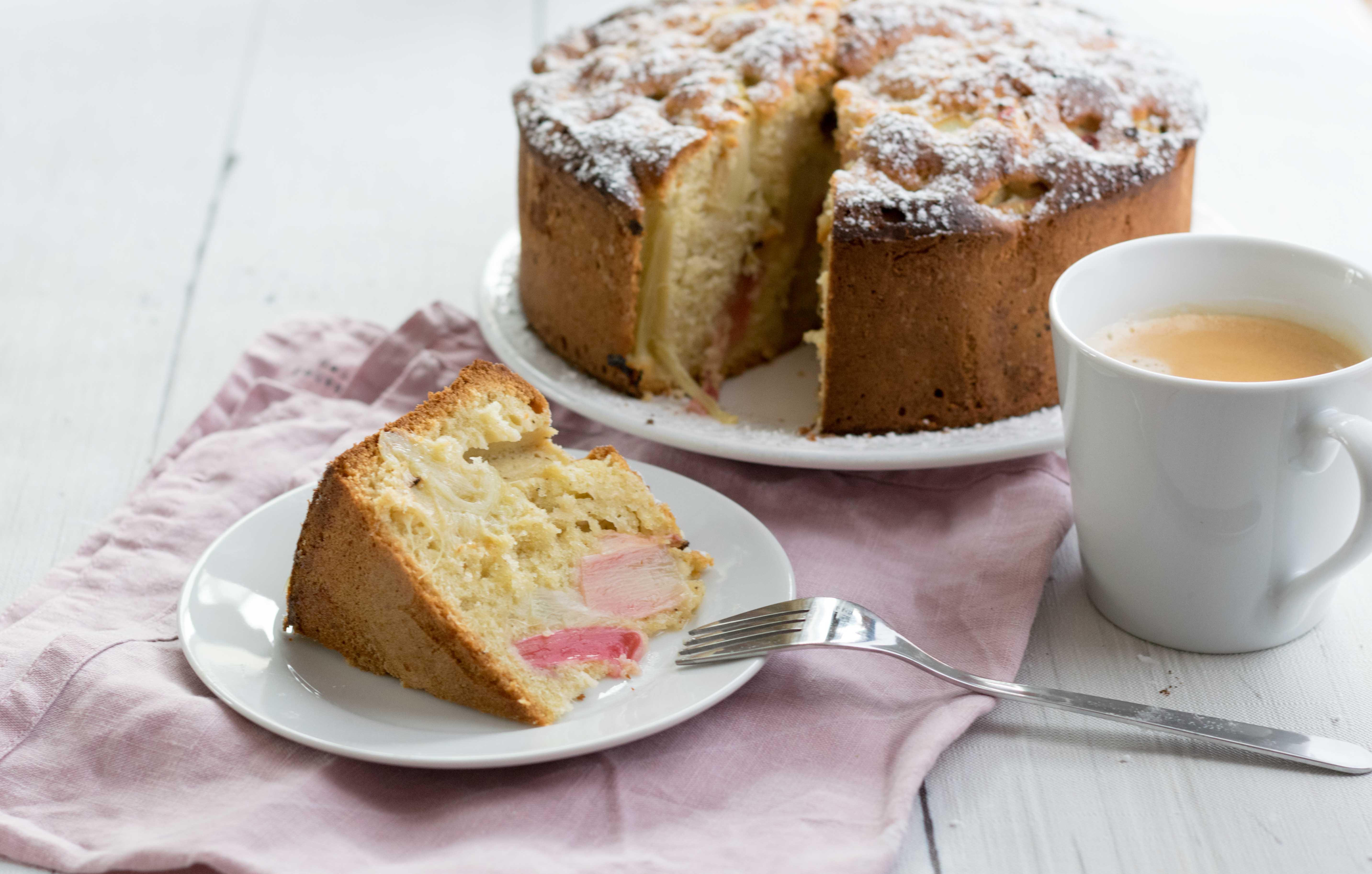 Rhabarber Kuchen
