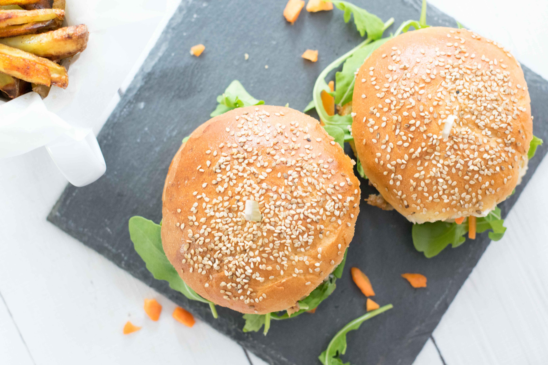 selbstgemachte Burger Buns