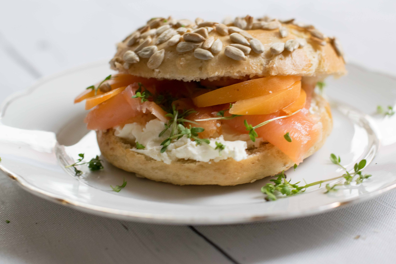 Frühstücks-Bagel