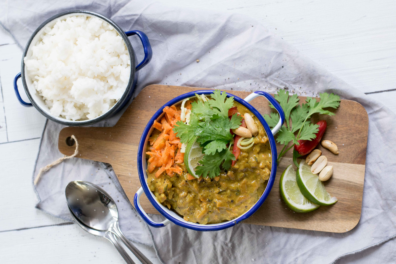 Hühnchen in Kokos-Gemüse-Sauce