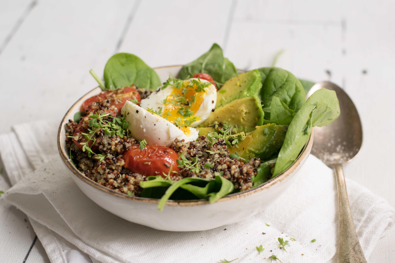 Quinoa Frühstücks Bowl