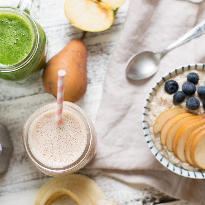 Frühstück für den perfekten Start in den Tag & gesunde Snacks