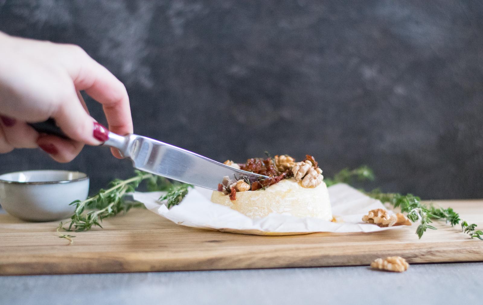 im Ofen gebackener Camembert4