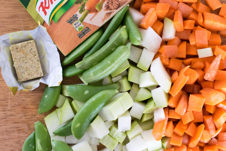 Gemüsestrudel