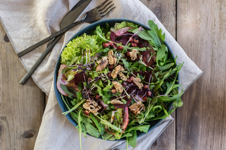Salat mit Roten Rüben