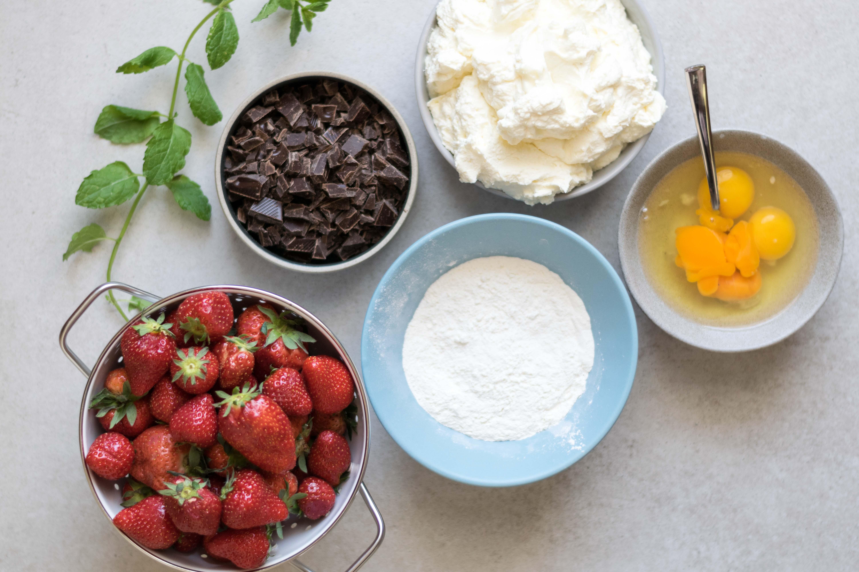 Erdbeer Schokolade Kuche