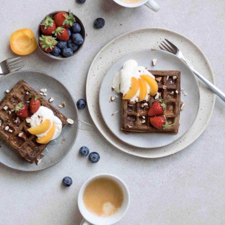 Für Kaffee-Liebhaber: Kaffee-Waffeln zum Frühstück