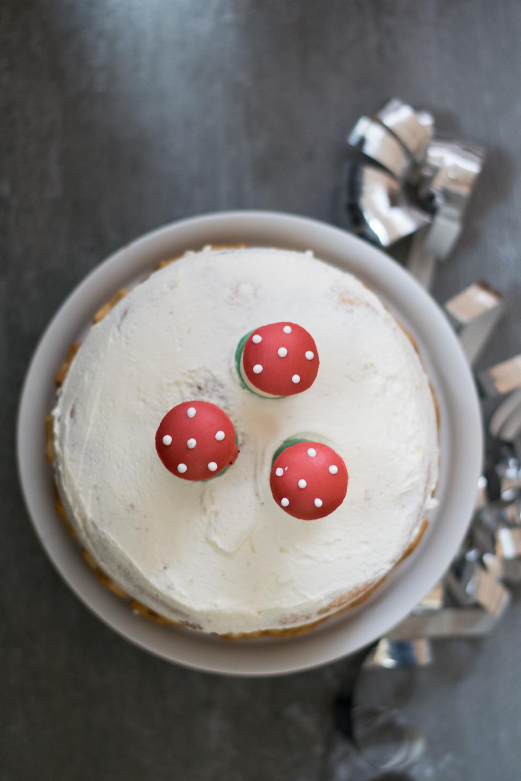 Silvester Naked Cake