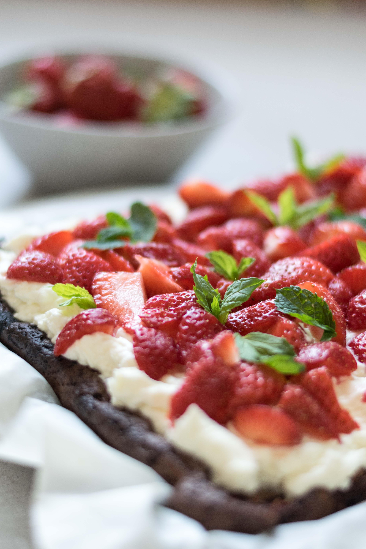 Erdbeere-Schoko-Kuchen