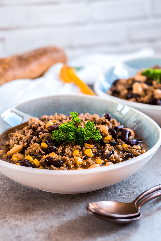 Perfektes Baustellenessen - Chili con Carne