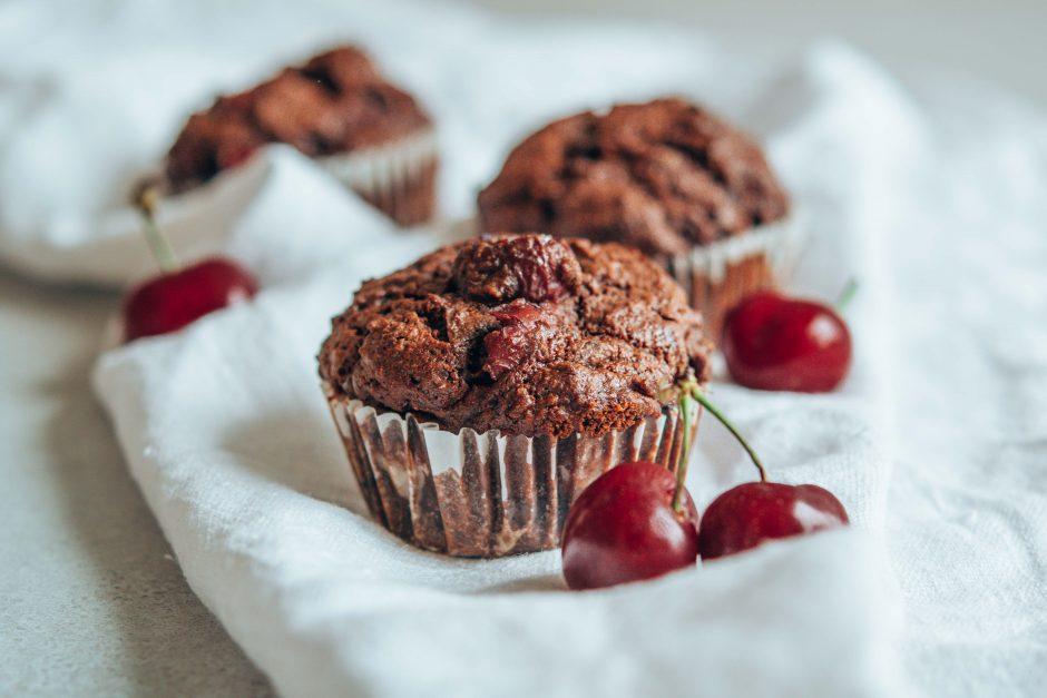 Schoko-Kirsch-Muffins – schnell gemacht!