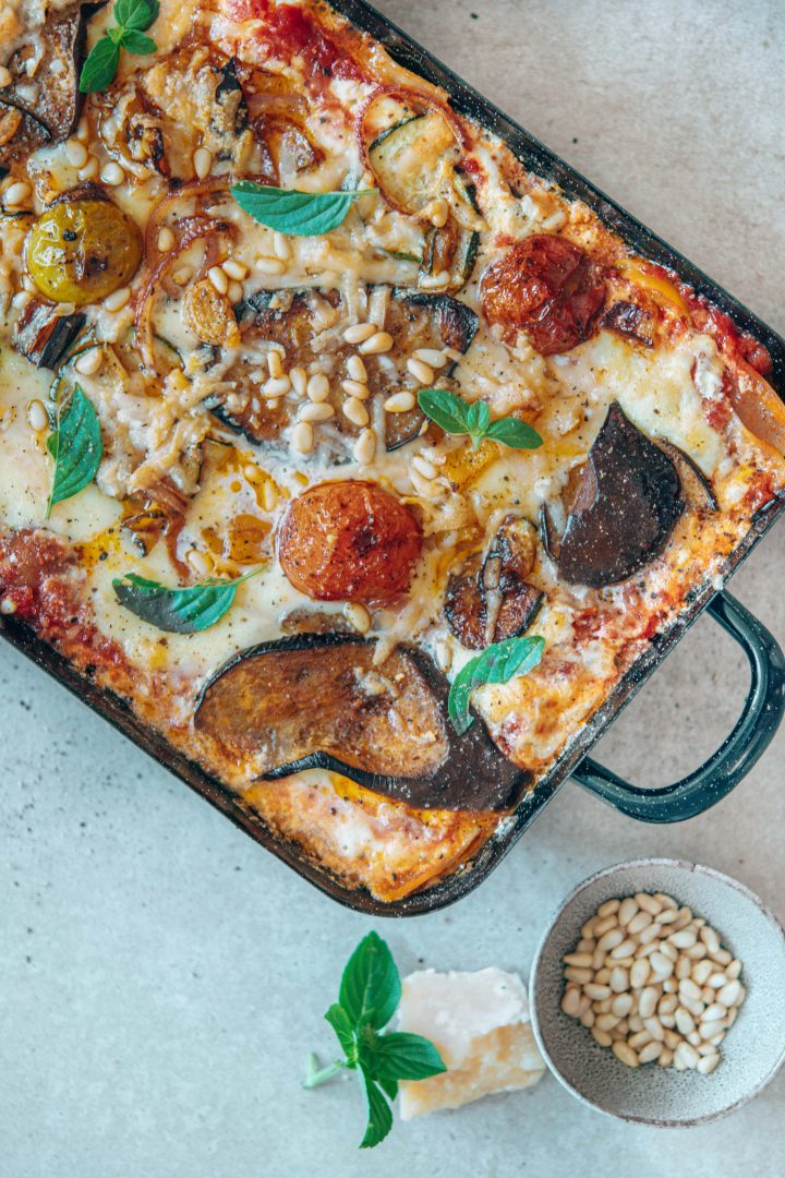 Lasagne mit Sommergemüse