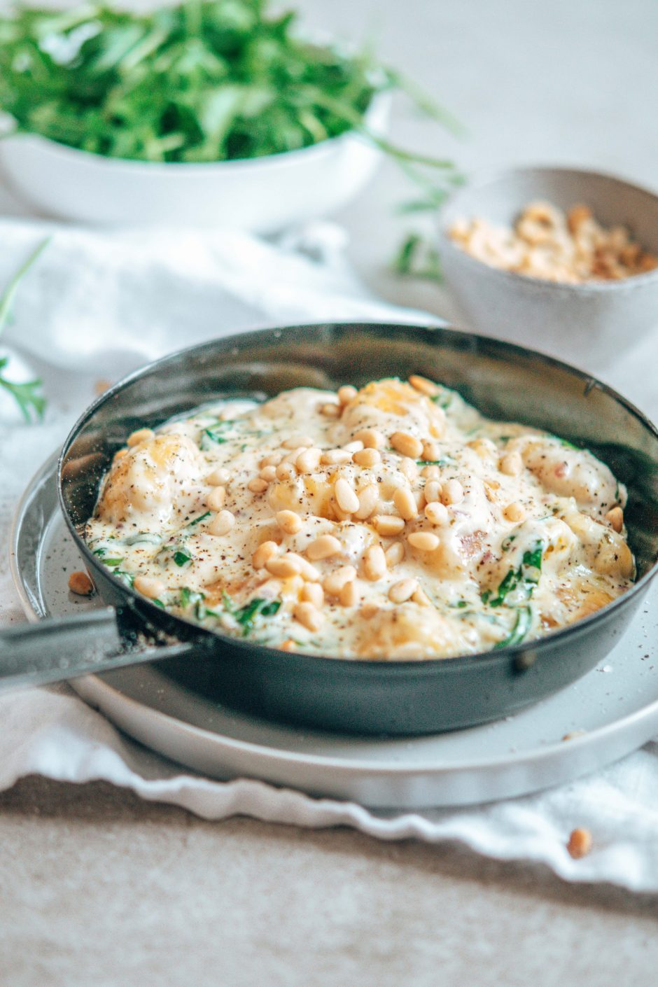Herzhafte Gnocchi Pfanne – schnelle Küche