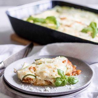 Vegetarische Zucchini Lasagne