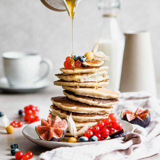 Bananen Pancakes ohne Zucker